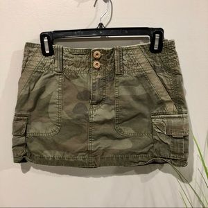 American Eagle Outfitters mini skirt in Camo
